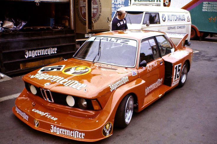 The Jägermeister Faltz Team started with two cars into the 1977 season of the German Racing Championship (Deutsche Rennsportmeisterschaft DRM), one driven by Harald Grohs, this one by Hans-Joachim Stuck.