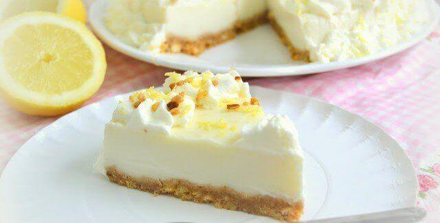 Lite lemon pie (Finnish)