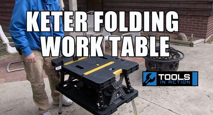 25+ best ideas about Keter folding work table on Pinterest