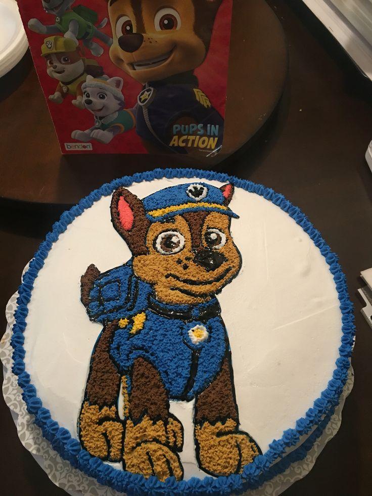 Chase Paw Patrol Cake Birthday Cakes Paw Patrol