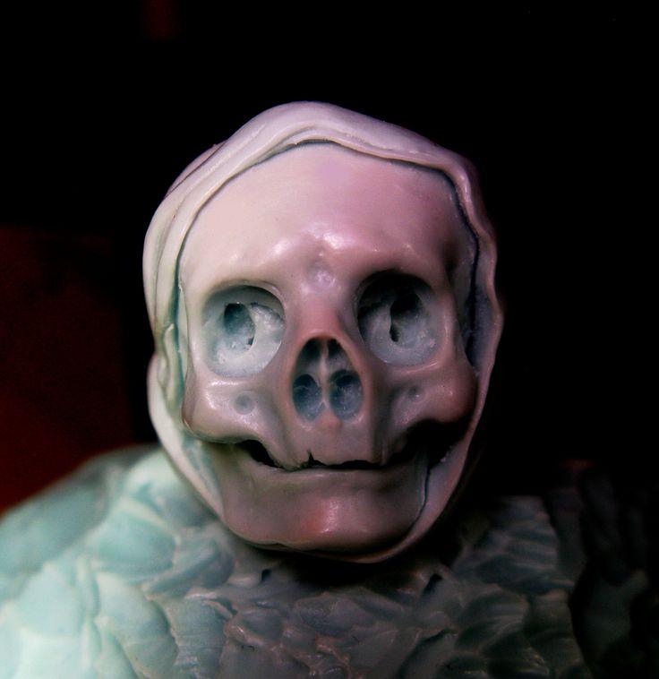 #wax #carving #jewellry, #skull #ring, #human #skull, #custom #jewellry, #handmadejewellry, #injectionwax #carving.