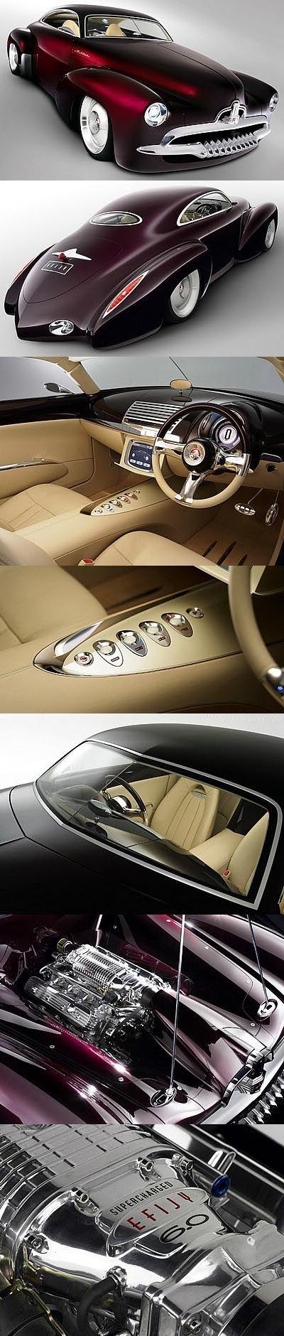 Holden Efijy Concept Car A wild 21st Century hot rod