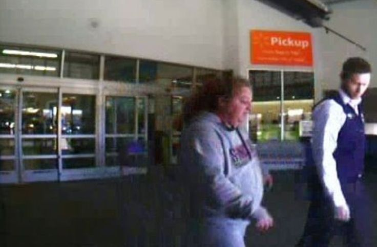 Caught on camera: Walmart customer violently attacks woman after thinking she cut in line - AOL