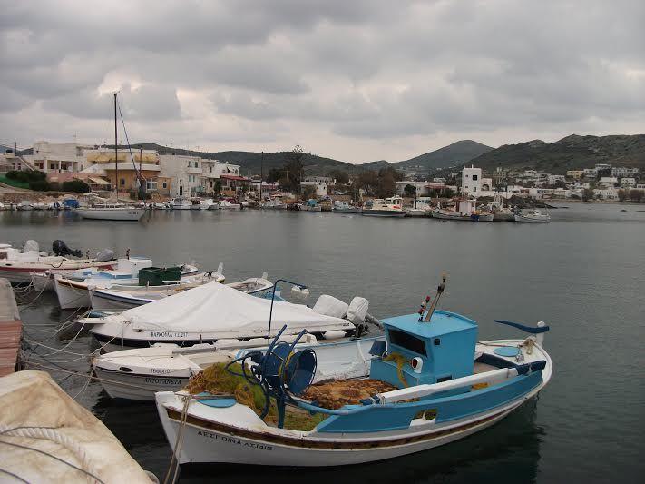 Fishing boats at Foinikas