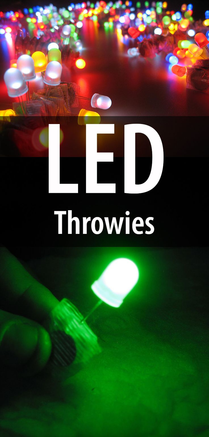 Led Throwies Led Colors And Fun