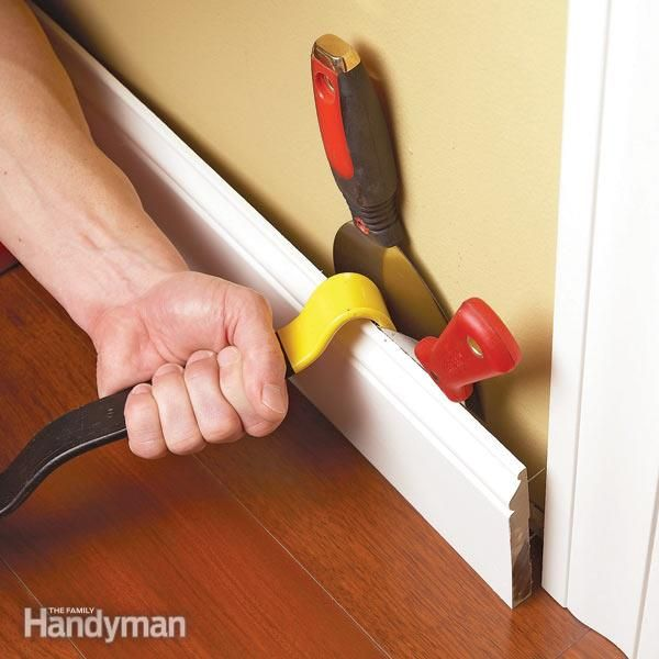 how to remove trim, moldings and other woodwork without damaging the wall or cracking the wood. quick and easy techniques.