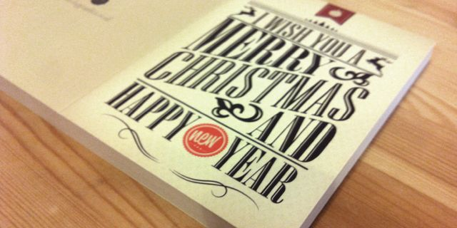 graphic design christmas cards