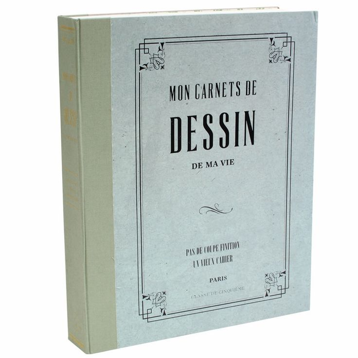 Mon Carnet De Dessin! The large sketchbook version of my Carnet de Poche notebooks that I adoooore <3 Expensive, but I'd really love it.