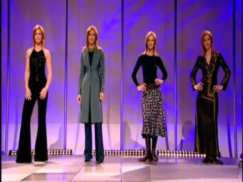 ▶ What Not To Wear Trinny Woodall Susannah Constantine The Rules 2003 3/8 - YouTube