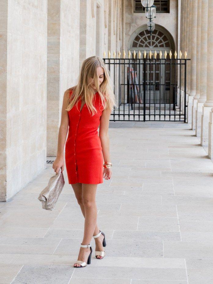 Red Dress - The World Blondie