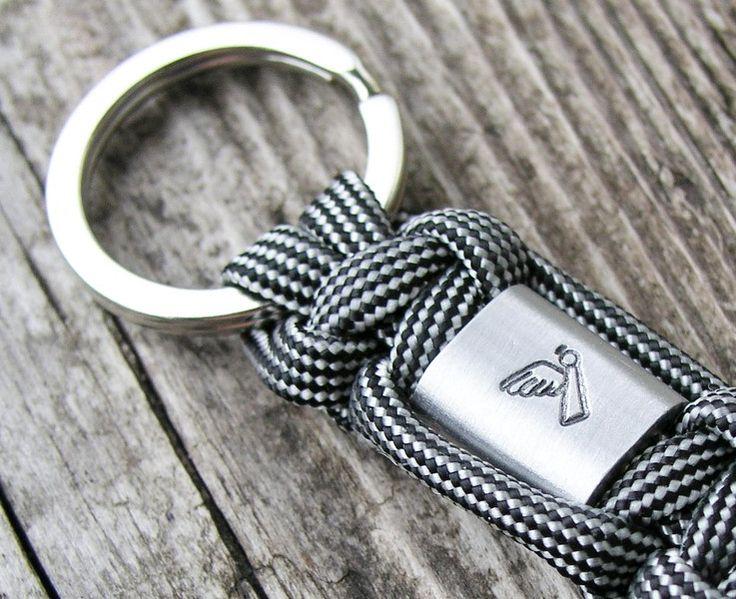 Schlüsselanhänger - Engel Schlüsselanhänger Schutz Führerschein - ein Designerstück von Schmuckkistl bei DaWanda