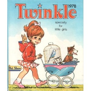 Twinkle Specially for Little Girls 1978 (Annual) this was my very first twinkle my Mum and Dad bought for me. Even though I was 6 I remember getting it clearly!
