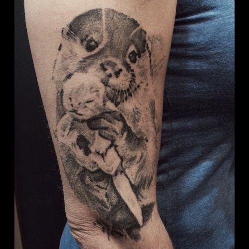 Top 25 Ideas About Otter Tattoo On Pinterest