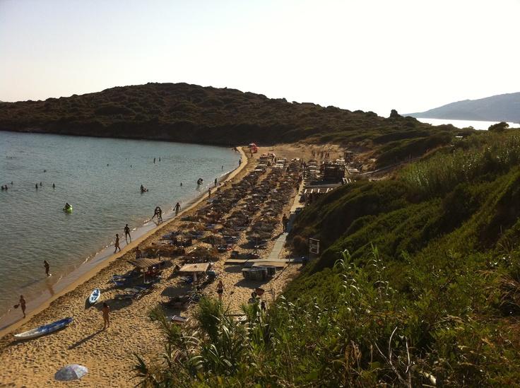 Batsi, Andros, Greece - Hrysi Ammos beach
