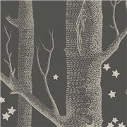 Papier peint - Cole and Son - Woods & Stars - Charcoal