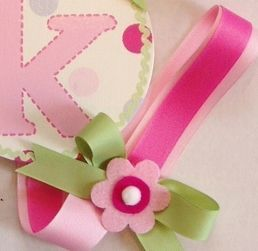 LotAspots - Girls Round Personalized Hairbow Holders - Ribbions And Bows only $34.95 - Hair Bow Holders