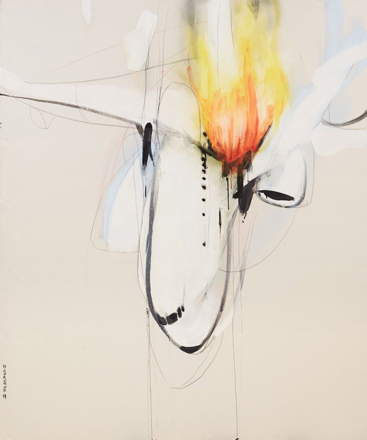 Archibald Prize Sulman 2014 finalist: Minor turbulence by Henry Curchod
