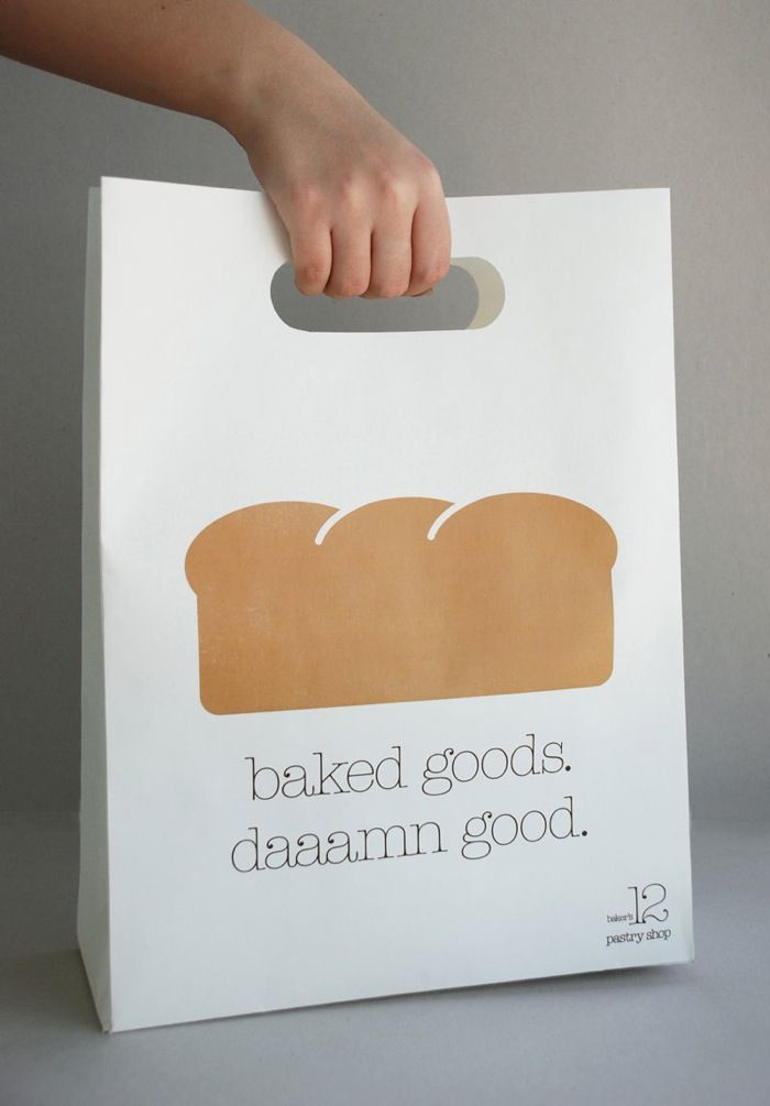 Baker's 12 - pastry shop #packaging #branding #design
