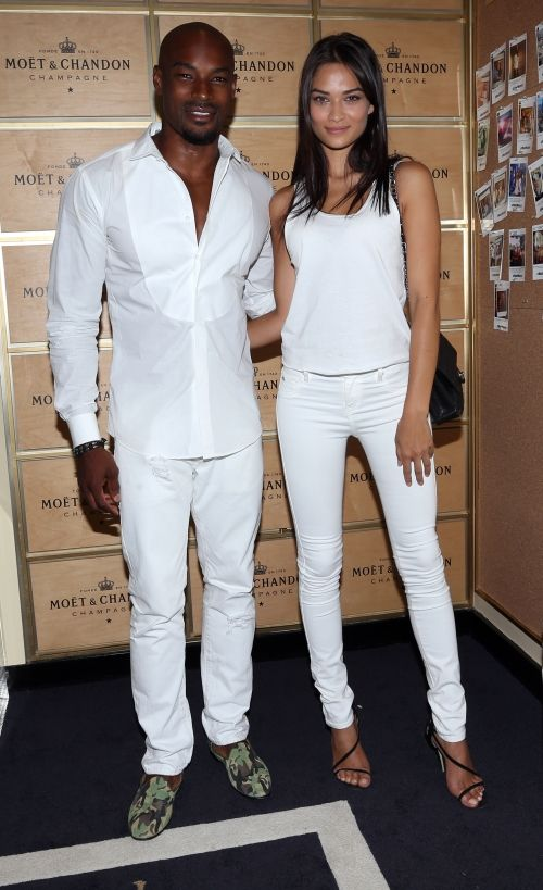 Model Tyson Beckford & Victoria Secret Model Shanina Shaik.