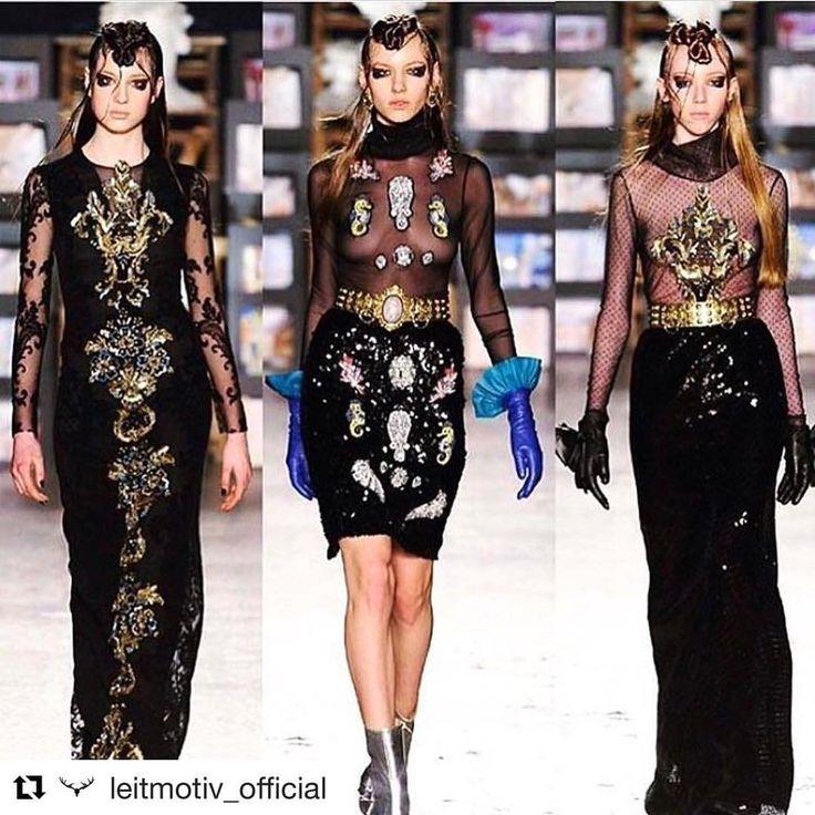 """Mi piace"": 143, commenti: 7 - M A T R Y O S H K A . G (@matryoshka.g) su Instagram: ""#Repost @leit_motiv @leitmotiv_official ""LEIT-BAROQUE"" Fashion Show FW17-18 #Leitmotiv ha…"""