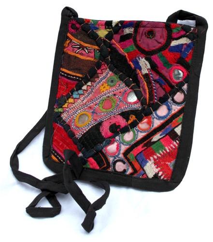 Ethnic Indian MINI PATCHWORK festival SHOULDER hippy boho PURSE BAG