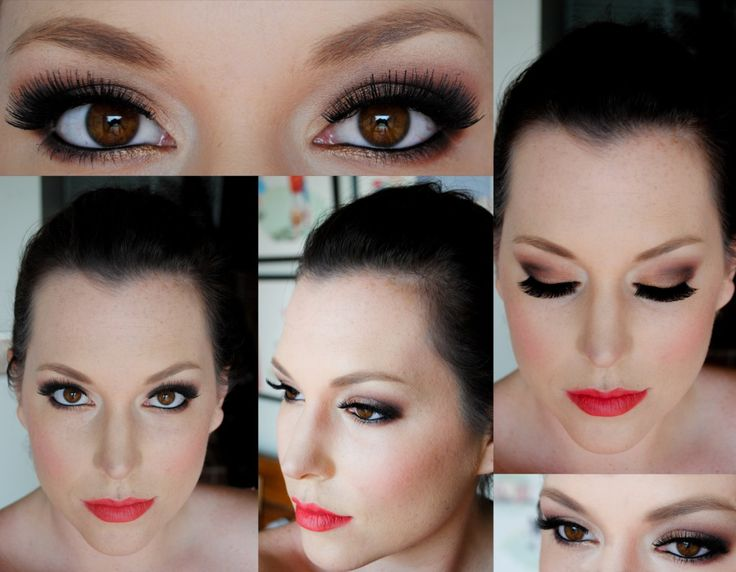 edgy bronze and deep brown smokey eye tutorial
