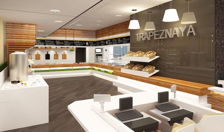 Interior design trapeznaya cafe by nostro pinterest for Ak decoration building services