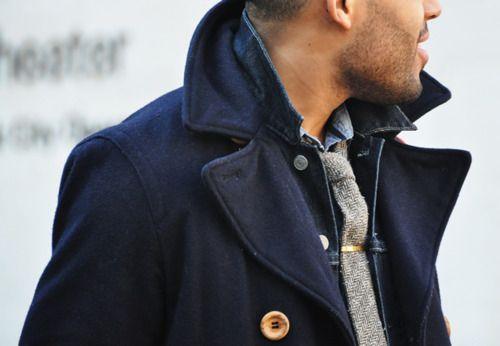 shirt + tie + coat