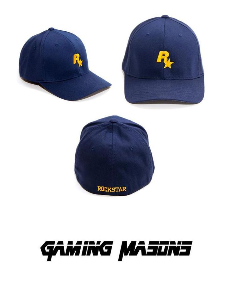 Grand Theft Auto V 5 Rockstar Games LOGO Bully Blue Dad Cap Hat SOLD OUT VHTF