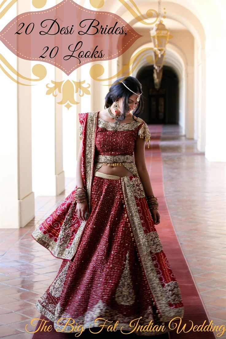 20 Desi brides - 20 makeup looks and styles at South Asian weddings