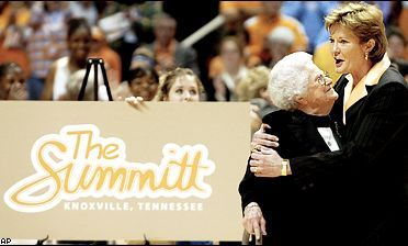 Pat scored a new record (880 wins) and court (The Summitt).