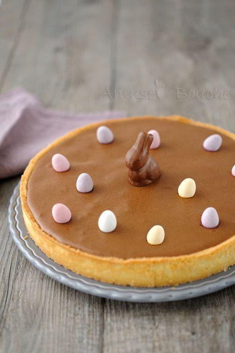 TARTA DE MOUSSE DE CHOCOLATE (Tarte mousse chocolat) #recetas #dulces #pascua