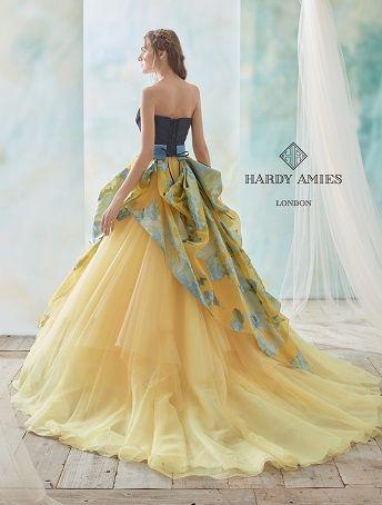 HARDY AMIES(ハーディエイミス):EHE028 レンタルウェディングドレス 大阪/東京/福岡