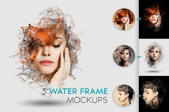 Water Frame Mockup by Kahuna Design on @creativemarket