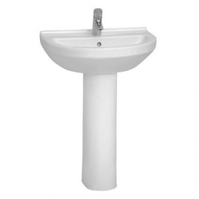 Vitra S50 Basin U0026 Pedestal. This Specific Basin Range Is Designed To Fit  The Smallest