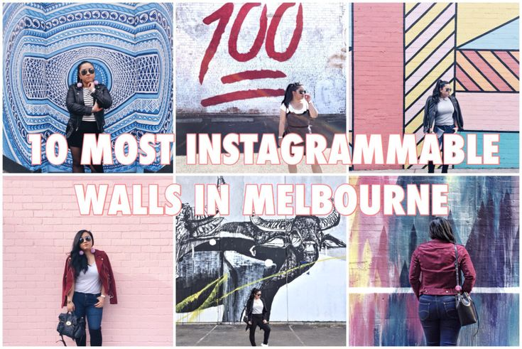 10 Most Instagrammable Walls in Melbourne. Beautiful walls make great photography locations!!!