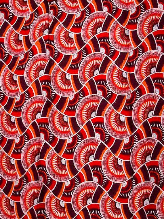 Shining Sand Woodin African Fabric 6 Yards 100 by Africanpremier, $29.99
