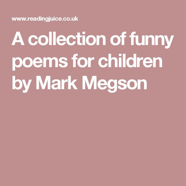 1000+ Ideas About Short Funny Poems On Pinterest