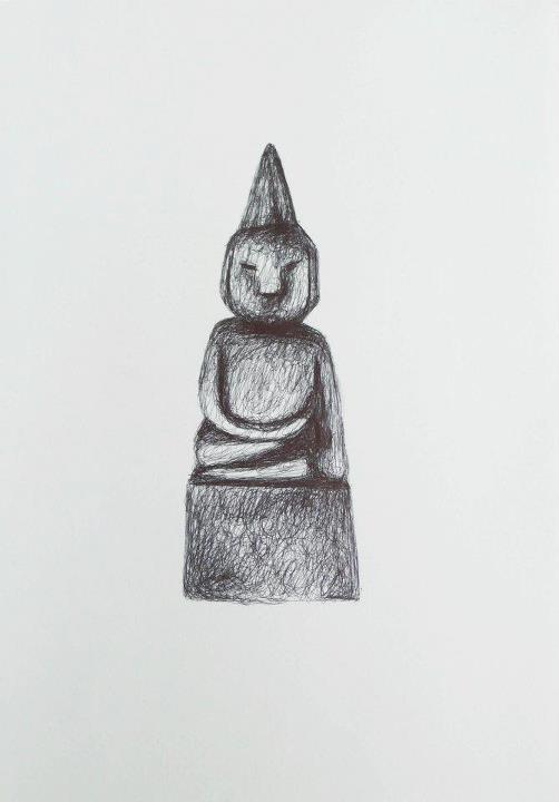 wooden buddha: Wooden Buddha, Chocasso