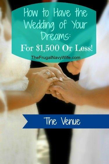 Money saving tips for a budget friendly wedding