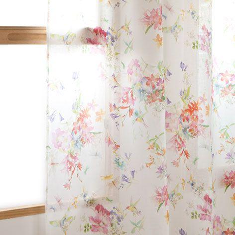 HUMMINGBIRD LINEN CURTAIN - Drapes - Bedroom | Zara Home United States