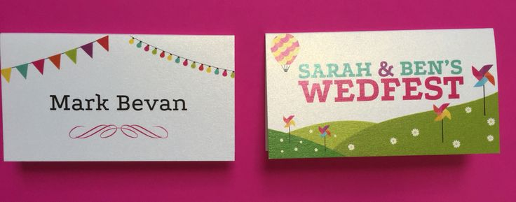Gorgeous and fun traditional style printed and personalised place names by Fuschia