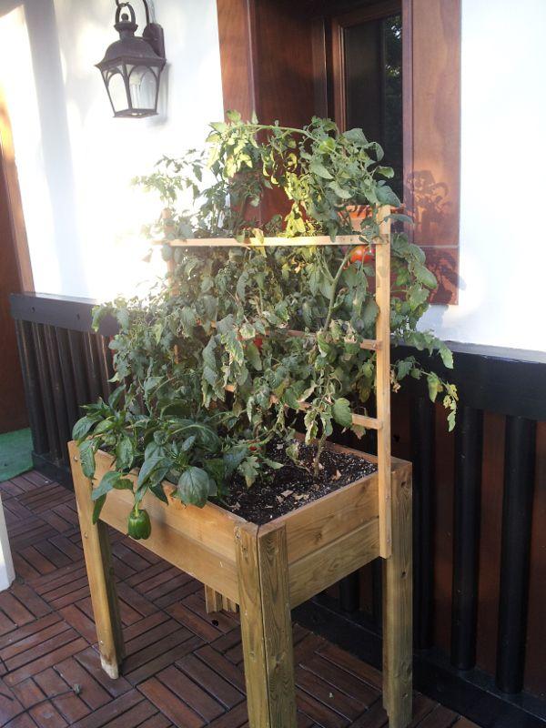 Mesas de cultivo para crear tu huerto urbano | Madelea