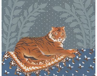 """Check out new work on my @Behance portfolio: """"Tiger"""" http://be.net/gallery/34779201/Tiger"""