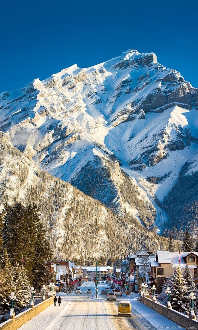 Cascade Mountain is the perfect backdrop for Banff, the picturesque alpine ski town nestle in the Canadian Rockies. Cross it off your bucket list and enter to win a 7-night dream vacation.