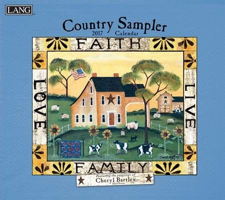 Country Sampler 2017 Wall Calendar , 17991001906 | Lang