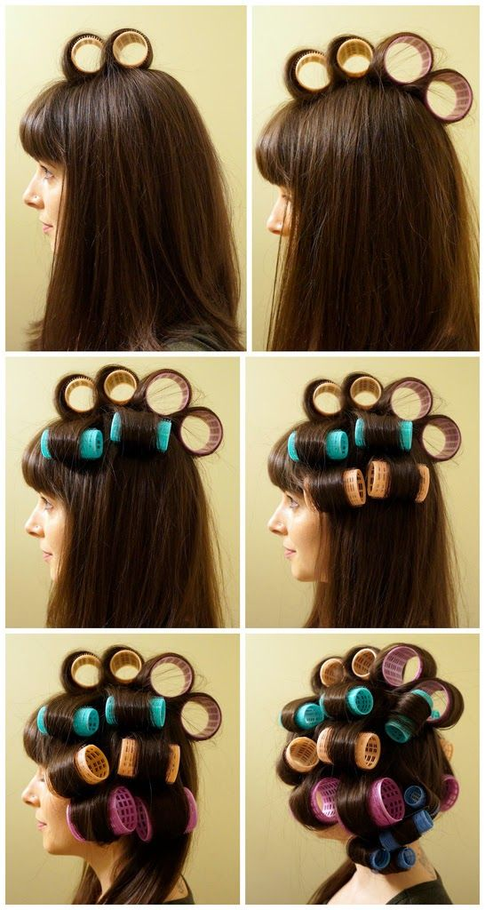 DIY - How to Curl Your Hair With Velcro Rollers - B & G Fashion