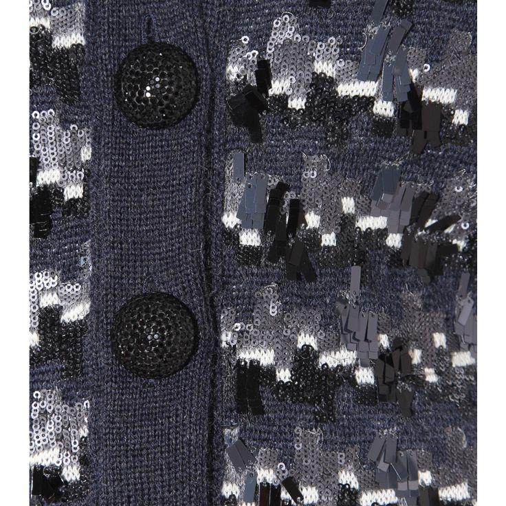 #MarcJacobs #sequin #embellished #deepblue