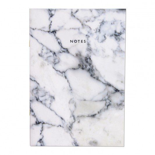 Urban Outfitters Marble A4ish Notebook at http://www.ohhdeer.com