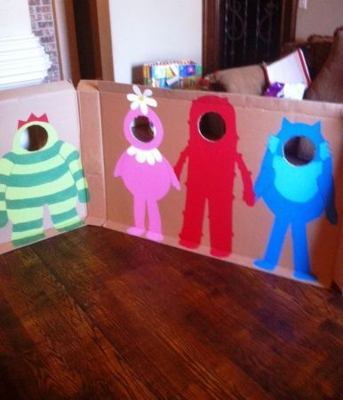 Cool party idea - picture opp  little monsters
